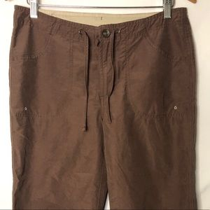 Columbia Brown Capris Size Small